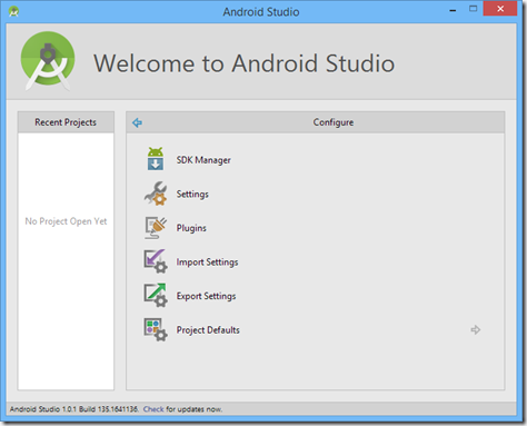 android studio - running Android Phonegap App on PC and connected Android device
